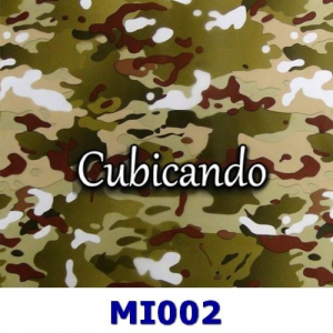 Film for cubicatura camouflage effect 2