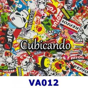 Film für Cubicatura Sticker Bomb 1