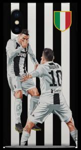 Cover Ronaldo-Dybala Star Man SiuuuuuMask