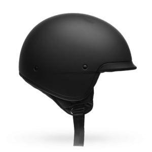 CASCO MOTO JET BELL SCOUT AIR MATTE BLACK