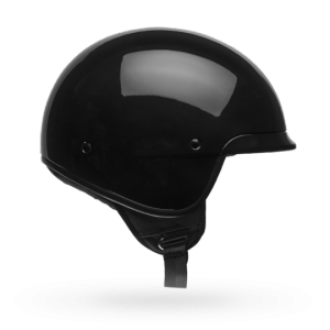 CASCO MOTO JET BELL SCOUT AIR GLOSS BLACK