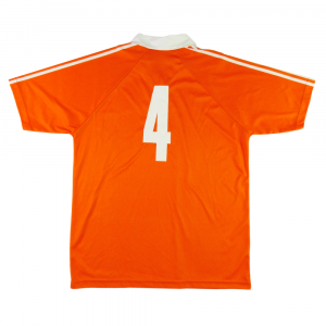 1990-92 OLANDA MAGLIA HOME KOEMAN #4 XL (Top)