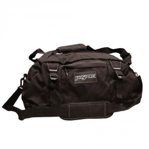 Jansport - Duffelpack - Borsone da sport ripiegabile piccolo 40 litri nero cod. JTKA008