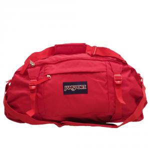 Jansport - Duffelpack - Borsone da sport ripiegabile grande 59 litri rosso cod. JTKA95KS