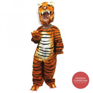 Costume Vestito Carnevale Bambino 2-4 anni Tigre