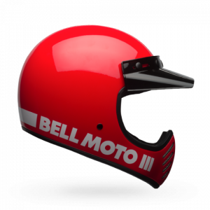 CASCO MOTO INTEGRALE BELL MOTO-3 GLOSS RED CLASSIC
