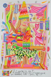 Musante Francesco Serigrafia polimaterica Formato cm 37x55