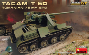 ROMANIAN 76-mm SPG TACAM T-60