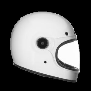 CASCO MOTO INTEGRALE BELL BULLITT DLX GLOSS WHITE