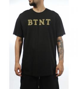 T-SHIRT BUTNOT BLACK LOGO GOLD U0901/2