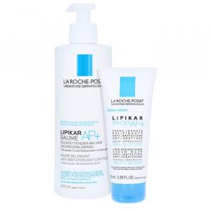 La Roche-Posay Lipikar Baume Ap 400ml + Lipikar Syndet Ap 100ml
