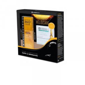 Heliocare 360º Color Gel Oil-Free Spf50 Bronze 50ml Set 2pz