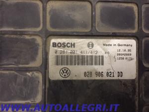 ECU CENTRALINA MOTORE VW PASSAT BOSCH 0281001411/412 0 281 001 411/412