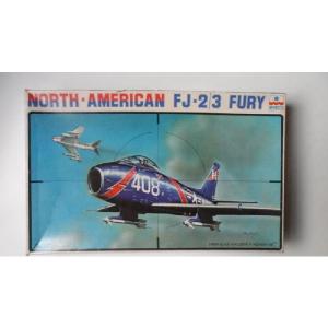 NORTH - AMERICAN FJ-2/3 FURY ESCI