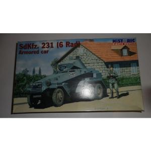 SDKFZ. 231 ( 6 RAD ) ARMORED CAR HISTORIC