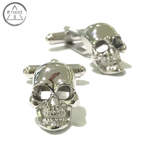 Fefè Glamour - Gemelli in acciaio - Skull