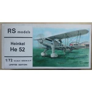 HEINKEL HE 52 RS MODELS