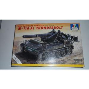 M - 110 A1 THUNDERBOLT SELF PROPELLED HOWITZER ITALERI