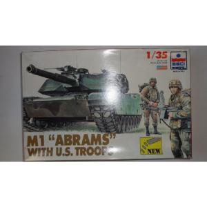 M1 ABRAMS CITH U.S. TROOPS ESCI