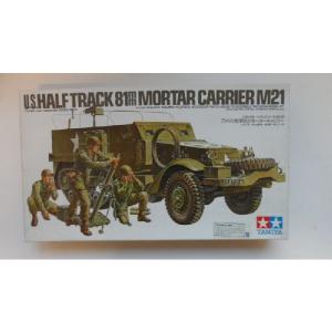 M21  U.S.HALF TRACK 81MM MORTAR CARRIER TAMIYA