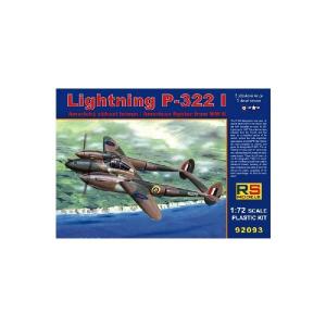 P-38 LIGHTNING P-322 I