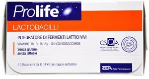 PROLIFE LACTOBACILLI CON VITAMINE DEL GRUPPO B - 10 FLACONCINI