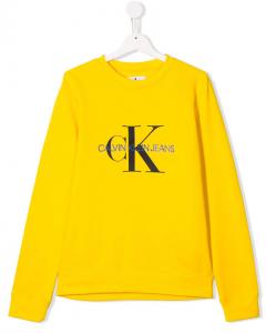 Felpa Calvin Klein Giallo
