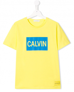 T-shirt Calvin Klein Fluo