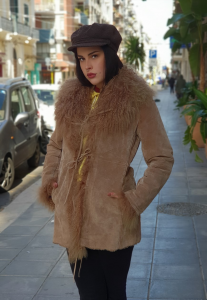 Montone in Shearling 80's cod.1a-104