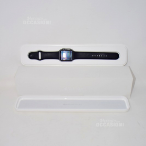Apple Watch 42mm S Gry Al Blk Sport, Model A1554 I