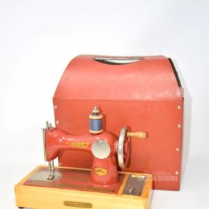 Modellino Macchina Da Cucire Vintage Con Valigetta 1979