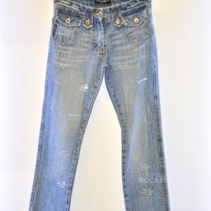 Jeans Donna Dolce&gabbana Tg 28