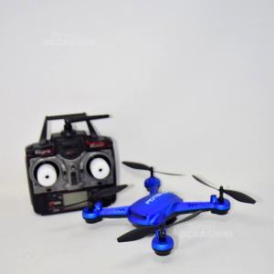 Drone Blu Potensic Con Fotocamera Radiocomandato