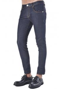Jeans uomo Hamaki-Ho cinque tasche stretch denim scuro ccb640d2699