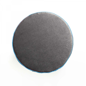 Pouf Aramis Plus Grigio Antracite - Azzurro