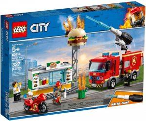 LEGO CITY FIRE FIAMME AL BURGER BAR 60214