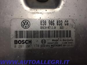 ECU CENTRALINA MOTORE VW POLO BOSCH 0261207178 0 261 207 178