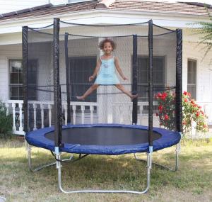 Trampolino Tappeto Elastico diametro 250 cm portata 150 kg