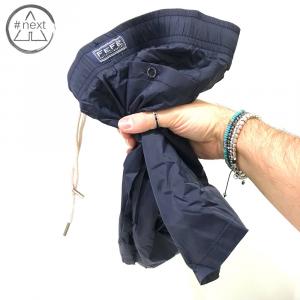 Fefè Glamour - Boxer mare nylon - Tinta unita blu - SS 2019