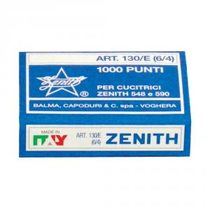 ZENITH Punti metallici 6/4 - Mod. 130/E
