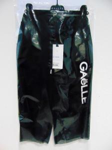 Pantalone nero con stampa logo bianco