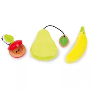 Set Frutta Strumento Musicale in legno giocattolo bambino bambina