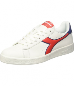 SNEAKERS DIADORA GAME P WHITE/RED/BLUE C7355
