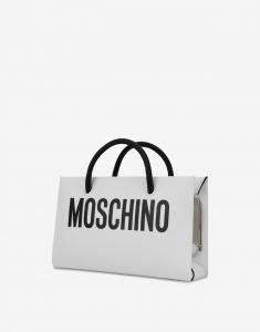 Evening bag con stampa logo