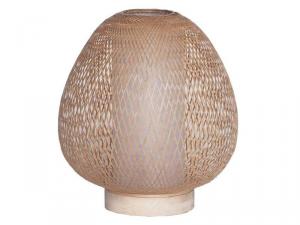 Lampada da tavolo Twiggy Egg in bambù naturale ø30cm
