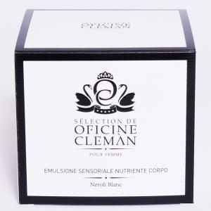 Emulsione Sensoriale Nutriente Corpo 200 ml Oficine Cleman Neroli Blanc