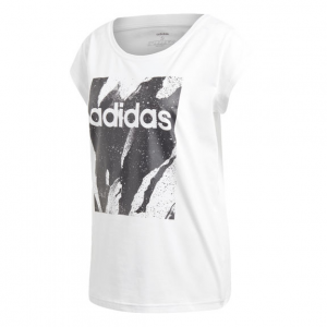 T SHIRT ADIDAS WHITE/BLACK DU0638