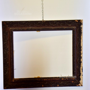 Cornice Antica In Legno 39.5x50