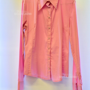 Camicia Donna D&g Tg 46 Rosa