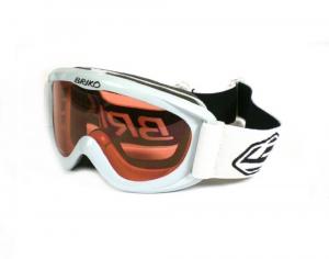 BRIKO VINTAGE Ski Mask Downhill Skiing Snowboard Junior Spunky White